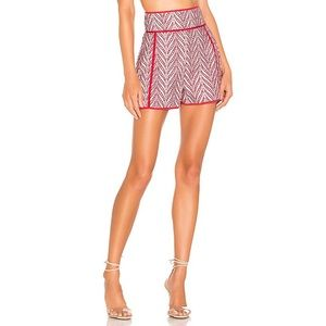 NWT Lovers + Friends Bizzy Short in Red Si…